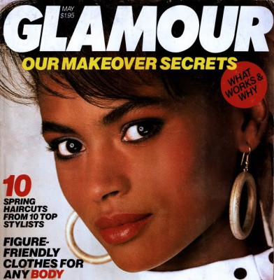Karen Alexader became a fixture on the covers of the most important fashion and beauty magazines