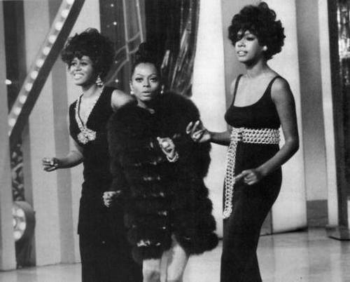 Diana Ross was always a standout even in her days with the Supremes
