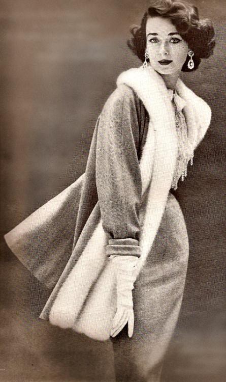 Dorian Leigh, Harper's Bazaar 1950