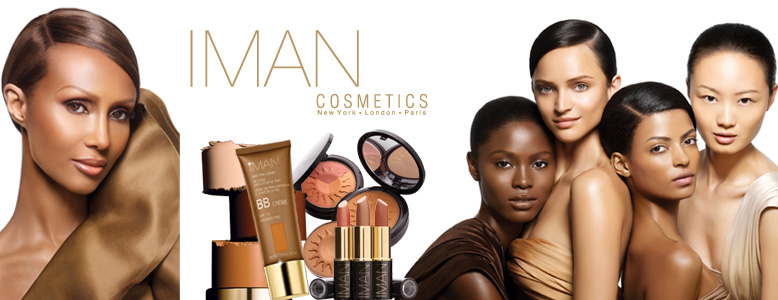 IMAN Cosmetics was created and inspired by the internationally accomplished fashion and beauty icon Iman.