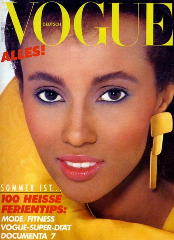 IMAN | Vogue Germany June ,1982