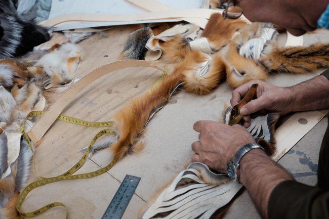 Real fur vs. faux fur