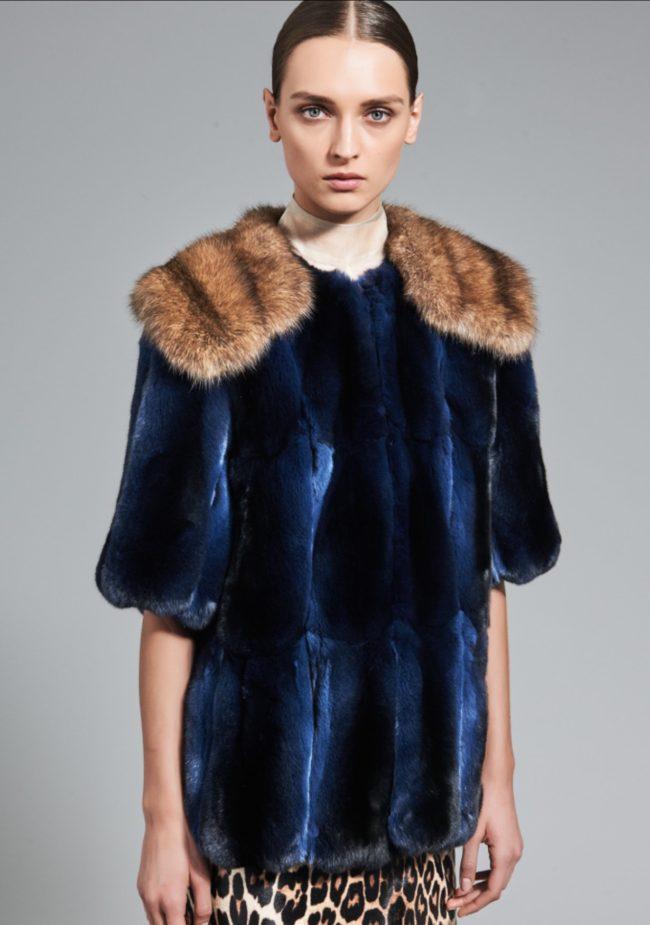 Real fur vs. faux fur J. Mendel RTW Fall 2017