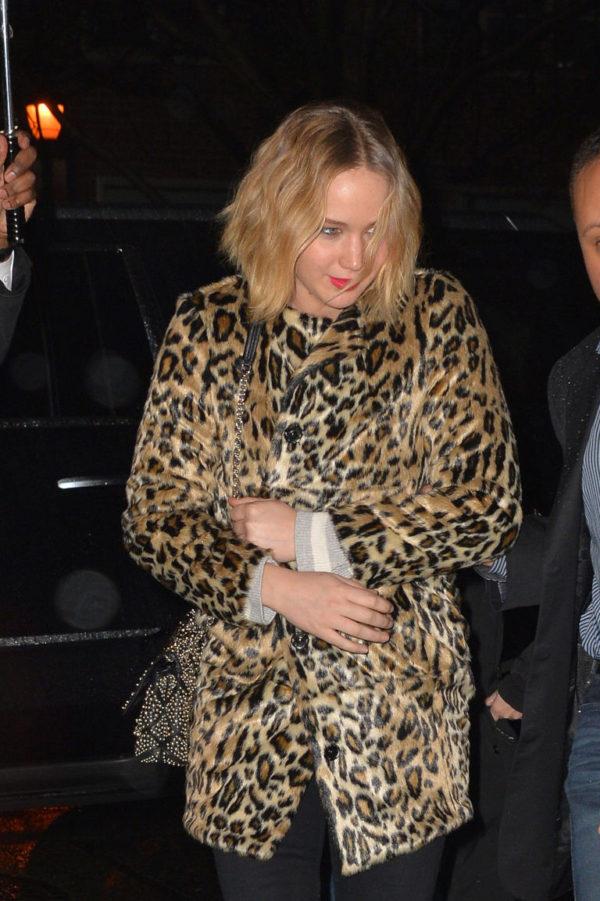 Oscar winning actress Jennifer Lawrence