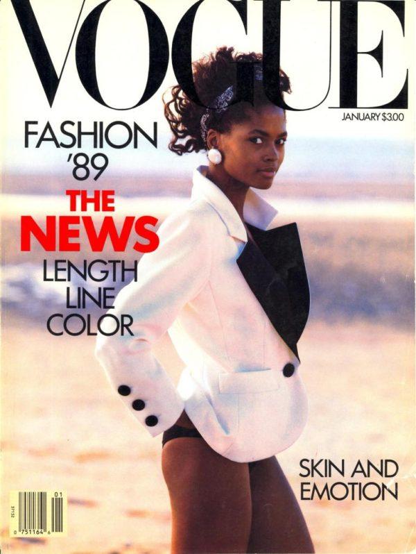 Karen Alexander by Peter Lindbergh for Vogue 1989.