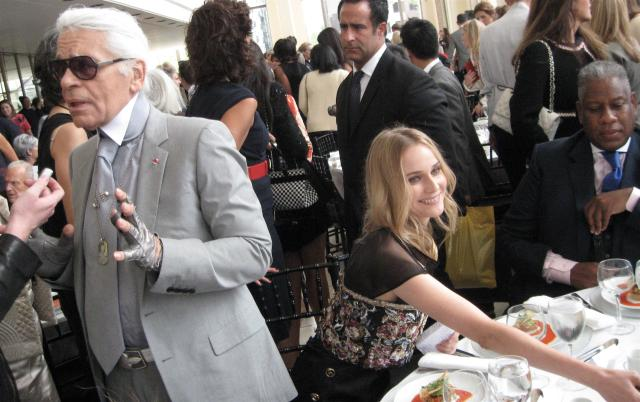 September 2010, the Couture Council of The Museum at the Fashion Institute of Technology presented Lagerfeld