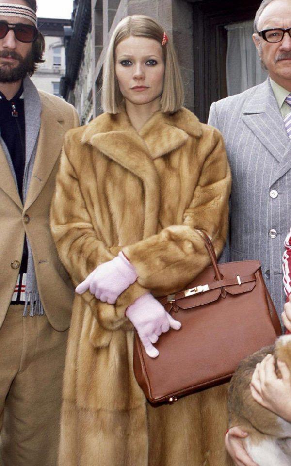 The iconic figure Margot Tenebaum in the 2001 film The Royal Tenenbaums (2001)
