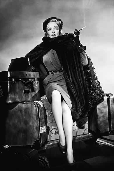 Marlene Dietrich defined cool elegance and self confidence like no other