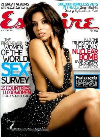 May 2005 Esquire Magazine crowned Eva Woman of the Year