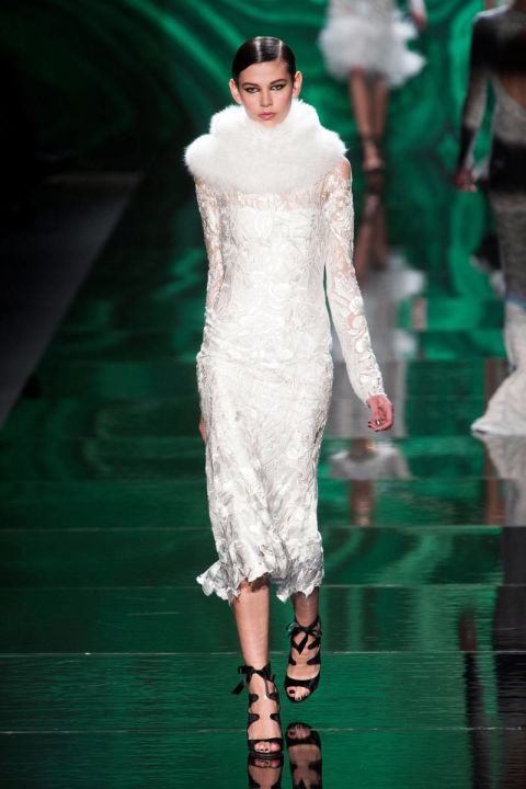 Monique Lhuillier Fall 2013 Ready-to-Wear Runway show