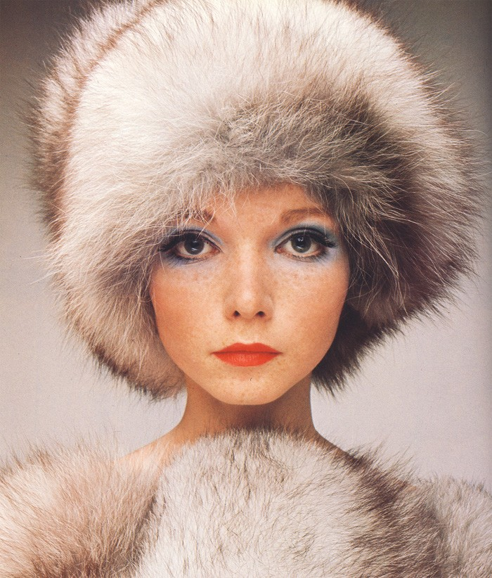 Penelope Tree taken by David Bailey for Vogue magazine
