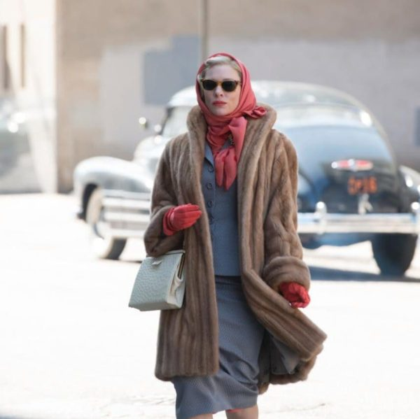 """Cate Blanchet was the quintessential 1960s housewife clad in her classic blond mink coat in the 2015 hit movie """"Carol"""""""