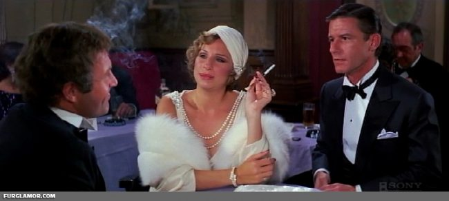 Funny Lady starring Barbara Streisand from 1975 furs on film