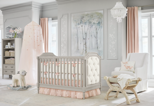 Decor pieces from Monique Lhuillier's collaboration with Pottery Barn kids