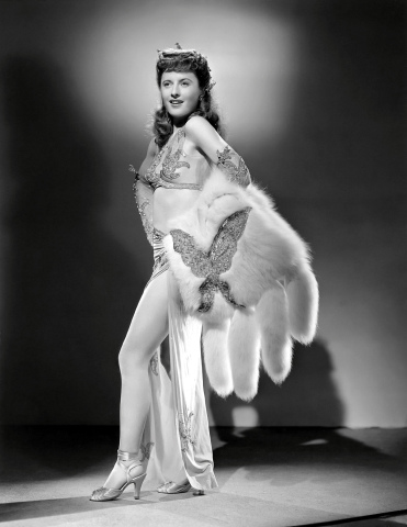 Lady of Burlesque starring Barbara Stanwyck Furs On Film