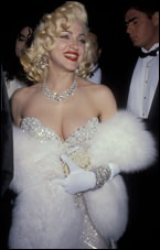 Madonna from her appearance at the 1991 Academy Awards