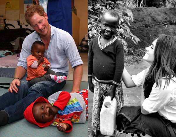 Beyond the obvious physical attraction between the two, perhaps the glue that binds is their mutual commitment and affinity to doing charitable work globally.