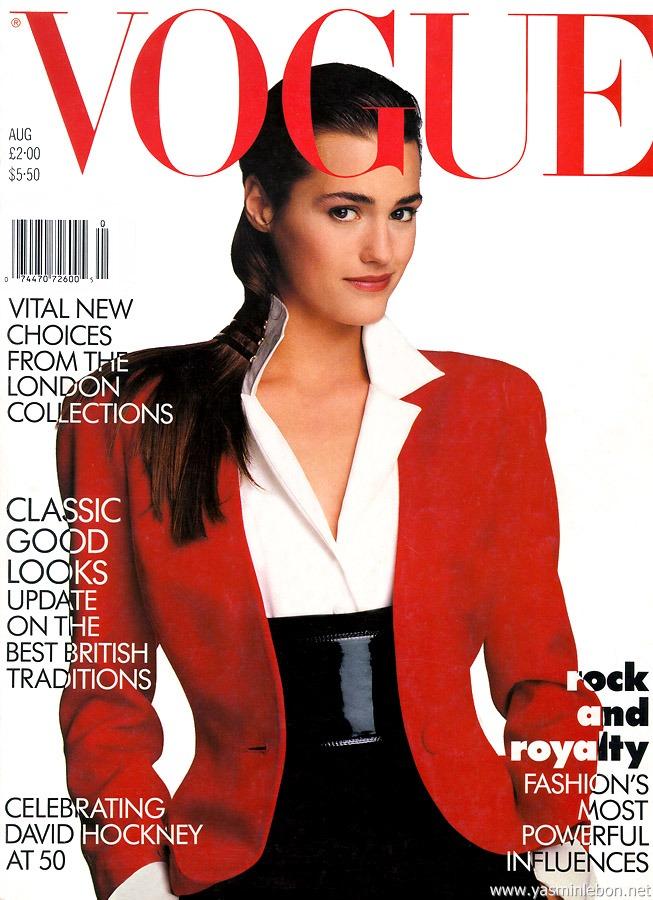 Yasmin Le Bon for Vogue